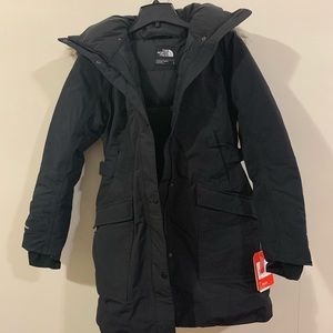 North face jacket brand new with tags! Women's